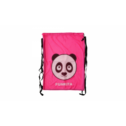 Mesh Bag - Aqua panda